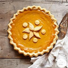 Perfect Pumpkin Pie by The Power of Family Meals