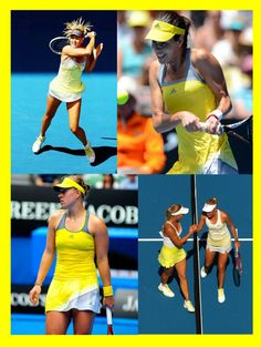 Why Is Everyone Wearing Yellow At The 2013 Australian Open? TennisFixation.com blog #tennis #ausopen