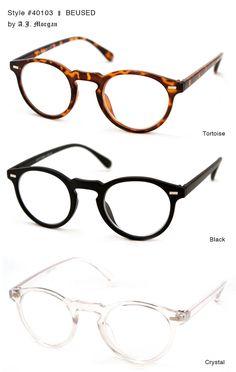Trendy Reading Glasses for Women | Round, Designer Reading Glasses for Women by A.J. Morgan || 40103 ...