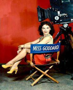 Paulette Goddard (via Classic Movies Digest) Paulette Goddard, Classic Actresses, Classic Movies, Actors & Actresses, Hollywood Actresses, Hollywood Stars, Classic Hollywood, Old Hollywood, Hollywood Icons