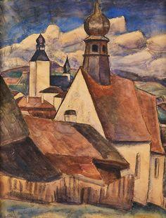 "LEO GESTEL ""ROOFS"" (1923)"