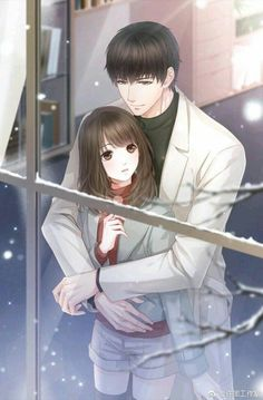 Anime Couples Tu ik War bol ké tha wek Ké tere to jii bhr geya Sada esass tha ki Kade supne wech bi na awa ge Anime Love Story, Anime Love Couple, Manga Couple, Manga Love, Couple Art, Romantic Anime Couples, Cute Anime Couples, Anime Couples Cuddling, Anime Couples Drawings