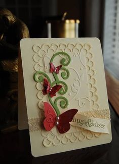 Butterfly Banner by Darla Ryan - Cards and Paper Crafts at Splitcoaststampers