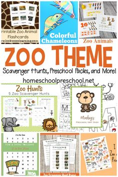 25 Preschool Zoo Printables and Activities From craft templates to scavenger hunts and everything in between. Pique your little one's interest in zoo animals with these zoo preschool theme printables. Preschool Zoo Theme, Preschool Learning Activities, Free Preschool, Preschool Printables, Preschool Science, Preschool Worksheets, Preschool Crafts, Preschool Homework, Free Worksheets