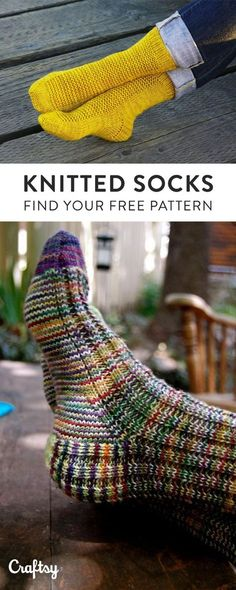 Our favorite knit sock patterns to keep your toes nice and toasty this Fall. Did… Our favorite knit sock patterns to keep your toes nice and toasty this Fall. Did we mention they're free? Loom Knitting, Knitting Socks, Knitting Patterns Free, Knitting Charts, Slipper Socks, Slippers, Crochet Socks, Knit Socks, Shoes