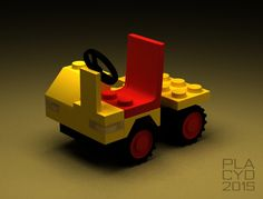 LEGO 6607 Service Truck modelled in 3DS Max