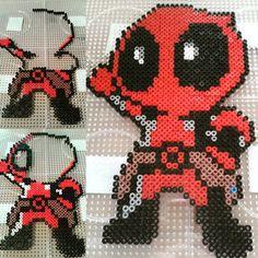 Deadpool hama beads by lottj