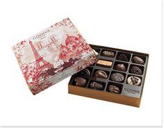 Chocolats - Collections - Gold - Boîtes Souvenir