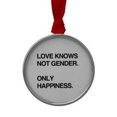 =>Sale on          LOVE KNOWS NOT GENDER. ONLY HAPPINESS ORNAMENT           LOVE KNOWS NOT GENDER. ONLY HAPPINESS ORNAMENT We provide you all shopping site and all informations in our go to store link. You will see low prices onReview          LOVE KNOWS NOT GENDER. ONLY HAPPINESS ORNAMENT ...Cleck See More >>> http://www.zazzle.com/love_knows_not_gender_only_happiness_ornament-175728287276428669?rf=238627982471231924&zbar=1&tc=terrest