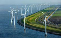 Estrada na Holanda.