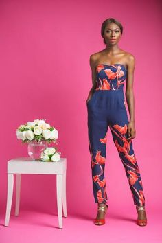 """Rashida Hamza of The Muse Factory presents Her Resort 2015 Collection """"Floral Tease"""" 