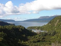 Mt. Terawera outside Rotorua