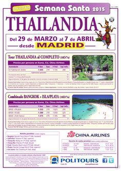 "Tour THAILANDIA al Completo ""Semana Santa"" sal. 29 de Marzo dsd madrid (10/7n)p. final desde 1.735€ ultimo minuto - http://zocotours.com/tour-thailandia-al-completo-semana-santa-sal-29-de-marzo-dsd-madrid-107np-final-desde-1-735e-ultimo-minuto-2/"