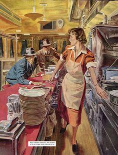 Robert Fawcett illustration