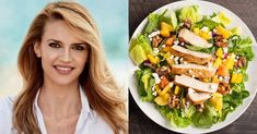 Healthy Diet Tips, Healthy Recipes, Cobb Salad, Health Fitness, Mexican, Ethnic Recipes, Food, Diets, Gym