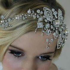 Nice hair piece Crown Hairstyles, Wedding Hairstyles, Personalized Cake Toppers, Wedding Hair Pieces, Bridal Hair Accessories, Dream Wedding, Garden Wedding, Hair Designs, Hair Clips