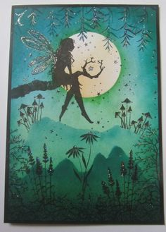 Hand made Fairy card £2.25