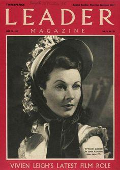 Vivien Leigh in Anna Karenina, 1948.