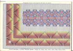 bordado punto, sweadish weav, swedish weav, punto yugoslavo, di ricamo, esquema punto