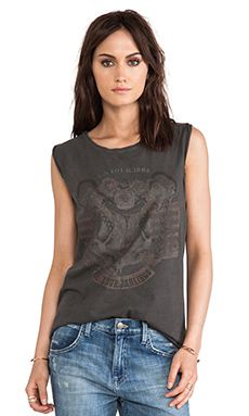 ANINE BING Vintage Graphic Tee in Black | REVOLVE