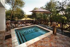 Swimming pool with a view @ Eden Safari Country House Summer Heat, Swimming Pools, Safari, Country, Outdoor Decor, Bridge, House, Book, Easy