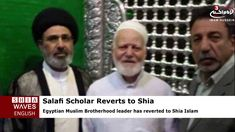 Egyptian Brotherhood Leader Reverts to Shia Islam in Holy Karbala Shia News, Muslim Brotherhood, Shia Islam, Imam Hussain, Islam Muslim, Baghdad, Holi, Egyptian, Holi Celebration