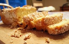Our family's version of the Polish Platzek bread. Slighty sweet bread with raisins, and a sweet crumble topping. This bread is excellent alongside a hot cup of coffee or tea.