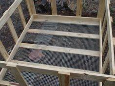 pallet rabbit hutches | repurposing pallets to make rabbit hutch