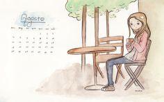 Calendário Agosto 2013