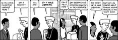 Life is hard when you're a male librarian. Library Humor, Review Board, Life Is Hard, Oppression, Great Books, Comic Strips, Workplace, I Laughed, Librarians