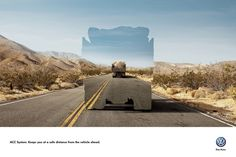 Volkswagen ACC System: Keeps you at a safe distance