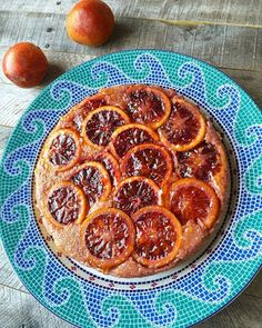 Stacey Snacks: Blood Orange, Cornmeal & Ricotta Cheesecake....OH MY!