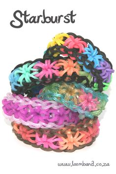 Starburst loom band tutorial - LoomBand