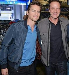 Friends: Matt Bomer and 'White Collar' co-star, Tim DeKay