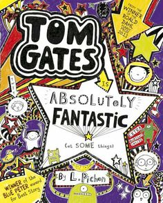 Tom Gates is Absolutely Fantastic (at some things) by Liz Pichon, http://www.amazon.co.uk/dp/1407134515/ref=cm_sw_r_pi_dp_TzMatb0F7D7M3