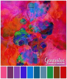 Colour Palettes | Amaryllis Creations by Genevieve Crabe Create Color Palette, Creating A Brand, Colour Palettes, Different Colors, Colours, Artwork, Teacher, Color Palettes, Work Of Art