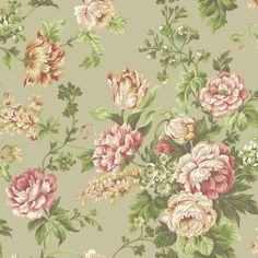 Woodland Rose York Wallpaper