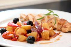 Kyllingform med rotgrønnsaker og rosmarin