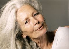 Naturally aged well. This is what I want to look like when I am older. Anna Orso, Italian actress