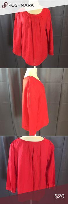 J.Crew Linen Shirt Great Condition J. Crew Tops Blouses