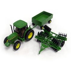 ERTL 15489 - 1/32 scale - Farm Toys by ERTL. $29.99. John Deere 6410 Tractor with Barge Wagon and Disc An uncompromising eye for detail results in the most authentic 1:32 scale replicas of vintage favorites and the large contemporary machinery of today, that are being built by the leading names in
