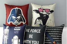 If you love Star Wars, check out this deal from Groopdealz! Get these 17-inch Star Wars Movie Weekend inspired Pillow Covers in 5 Styles for only $16.99! Normally $35.00! Don't miss out! They make a great decor accent! Get all 5!