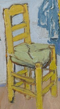 Detail of 'The Bedroom', October Vincent van Gogh - Credits (obliged to state): Van Gogh Museum, Amsterdam (Vincent van Gogh Foundation). Van Gogh Art, Van Gogh Museum, Detail Art, Pablo Picasso, Vincent Van Gogh, Inventions, Amsterdam, Foundation, October