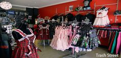 Go to Trash Street Brisbane Shopping, Custom Jewelry, Street, Vintage, Dresses, Fashion, Vestidos, Moda, Personalized Jewelry