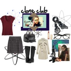 """clone club-cosima"" by jckallan on Polyvore"