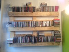 Pallets Cd store.  Recycled Pallets.