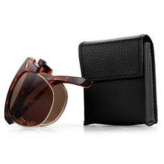 44faeaa31386f Women Men Vintage Presbyopic glasses Fold Metal Frame Sunglasses Reading  Glasses With Glasses Case  Glasses