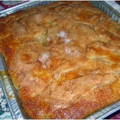 Old Fashioned Peach Cobbler ~~ Absolutely delicious served warm with vanilla ice cream! Never any leftovers with this dessert..! ,,