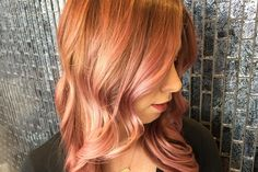 We are loving this glamorous yet sweet hair color done by Paul Mitchell National Educator Cassandra McGlaughlin. #PMBigNightOut