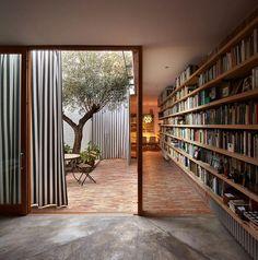 Interior Architecture, Interior And Exterior, Interior Design, Interior Garden, Architecture Courtyard, Room Interior, Casa Patio, Patio Stone, Flagstone Patio